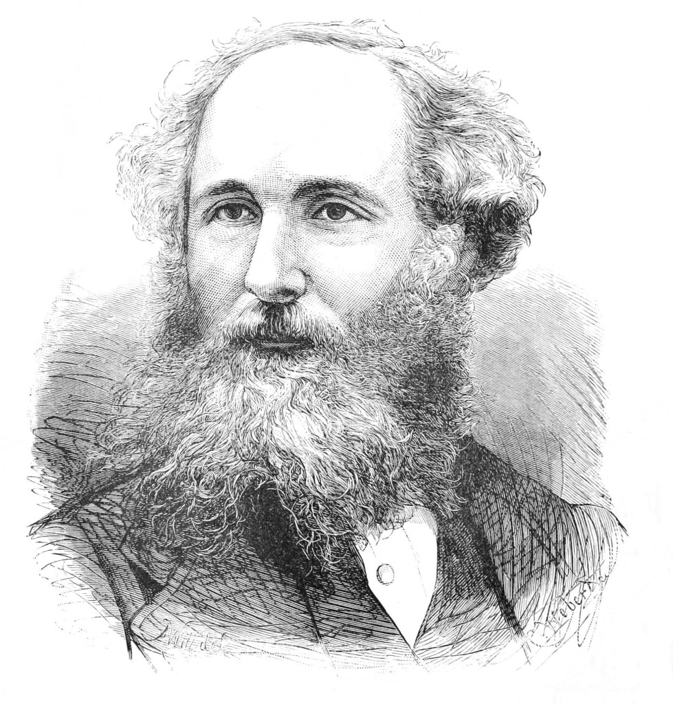 James Clerk Maxwell, from Popular Science, 1880