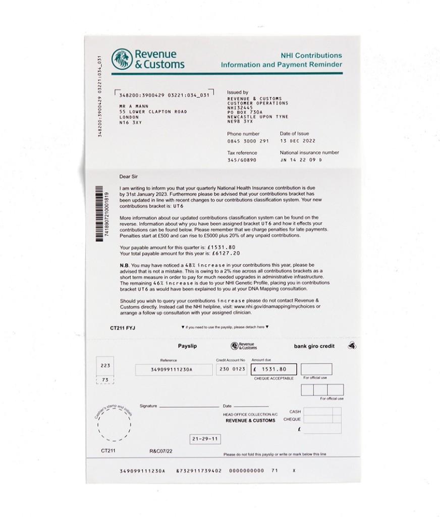 Premium payment due