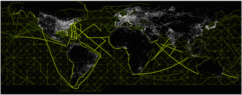 Shipping Routes: Key Vectors of Lux Dispersal
